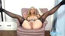 Cherie Deville big tits MILF fucking and sucking dildo.'s Thumb
