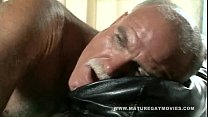 Mature Daddy Breaks Ass On Big Black Cock