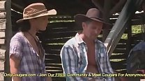 Farmer's Daughter Honey Demon Has Some Anal In The Barn