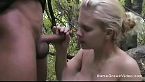 Amateur blonde gets fucked in the middle of the...'s Thumb