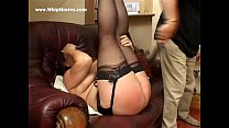 Hard spanking punishment for fat milf with big tits: muslim blowjob preview image