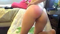 Spanking on webcam - www.24camgirl.com