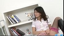 Hina Aisawa smooth Asian threesome on cam - Mor...