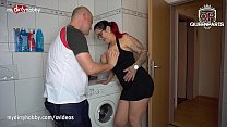 MyDirtyHobby - Big tits tattooed babe caught him sniffing her panties Vorschaubild