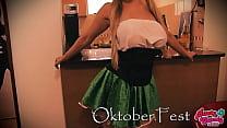 Busty Candy Celebrating Oktober Fest! Busty Big...