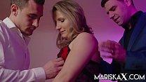 MARISKAX Blonde MILF Olga Love Gets Double Pene