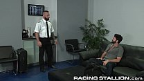 Hairy Muscle Hunk Arab Boy Pilot Rough Fucks Passenger