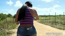 CULIONEROS - Phat Colombian Ass Getting Man Handled thumbnail