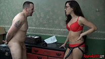 Strap On Slave Miles Striker And Roxanne Rae CFNM