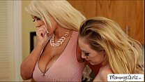 Ladies Lyra and Bridgette goes wild 69 pussy licking