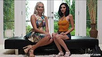 Two Hot Girls Fighting Over A BBC