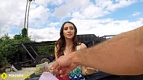 Roadside - Spicy Latina Fucks A Big Dick To Free Her Car  - 10