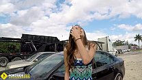 Roadside - Spicy Latina fucks a big dick to free her car - 69VClub.Com