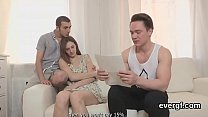 Broke guy lets naughty friend to screw his exgf for cash Preview