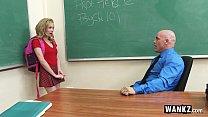 WANKZ - Teen Gets Creampied By Teacher! Image