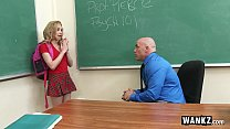 WANKZ - Teen Gets Creampied By Teacher! pornhub video
