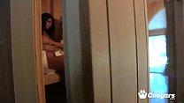 Free download video bokep Skinny brunette Cassandra Nix and Sheena Shaw wank in sauna