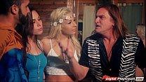 Carmen Caliente and Aidra Fox swap husbands in ... Thumbnail