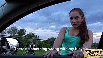 Amateur babe blowjob while driving Jenny Dark.1's Thumb