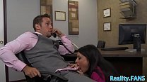 Real MILF secretary banged at the office thumb