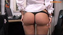 Cute amateur babe banged by nasty pawn guy at the pawnshop