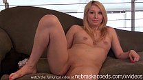 hot midwest amateur blonde naked and nervous fi...