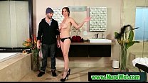 Nuru Massage Slippery Handjob And Hardcore Fuck Video 31