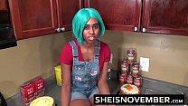 5523 Ebony Step Sister Msnovember Is Fucked In Kitchen Hardcore Bro Sex & Blowjob POV preview