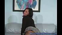 Stocking Wearing Babe Knows How To Tease