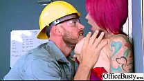 Hardcore Action In Office With Big Tits Slut Naughty Girl (anna bell peaks) vid-04