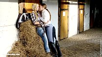 14135 Aneta and Mya go down on each other at the horse ranch by Sapphic Erotica preview