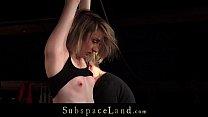 Submissive bitch dominated fucked for bondage disobedience Vorschaubild