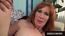 Mature Redhead Freya Fantasia Sucks on a Boner ...