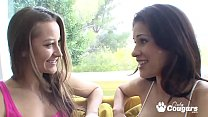Dani Daniels Makes Sweet Lesbian Love To Vanessa Veracruz's Thumb