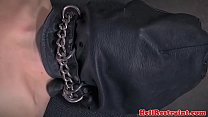 Punished sub restrained by maledom preview image