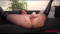 Fishnet Kinky Slut Says She'll Never Quit Smoking