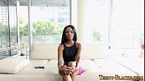 Doggystyled Ebony Teen