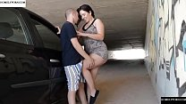 Free download video bokep Hot fucked with Pamela in a road tunnel. SAN369