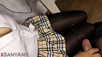 The Teen Jerks Off A Classmate's Dick)))milking