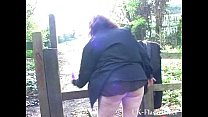 Chubby amateur girlfriend Nimues public nudity ...