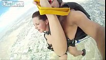 Skydiving Sex Stunt (un-censored version!)