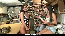 Amateur lets the pussy talk 3 thumb