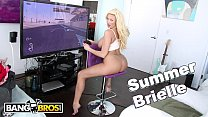 BANGBROS - Busty Blonde MILF Summer Brielle Squirts All Over Mike Adriano's Cock tumblr xxx video
