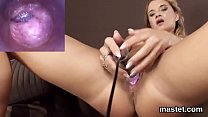 kinky czech nympho opens up her tight snatch to the extreme ~ xxx irani new thumbnail
