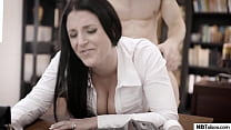 Get the fuck out off my office! - Angela White - PURETABOO