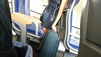 Hot Sweet Blonde Girl on the Train-GIRLSHOWCAM.COM