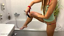 daddy is using his girl in the bathroom - projectfundiary