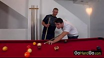 Kara Novak Threesome on the pool table porn - 69VClub.Com