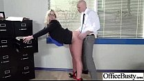 (julie cash) Naughty Cute Girl In Hard Sex In Office video-20