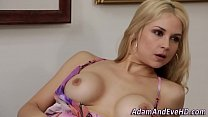 Stockings babe watched Preview